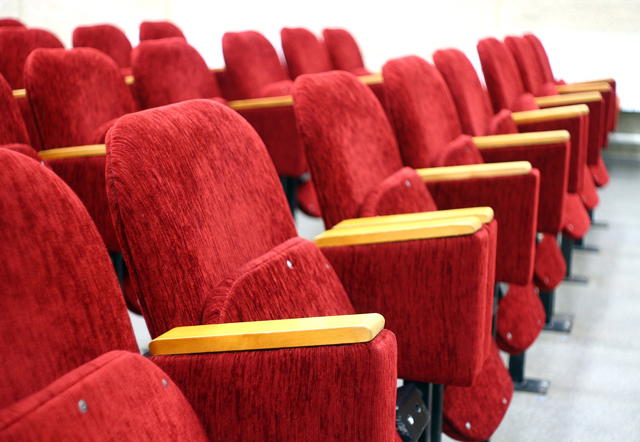 movie theatre at Ixora Club House, Chennai